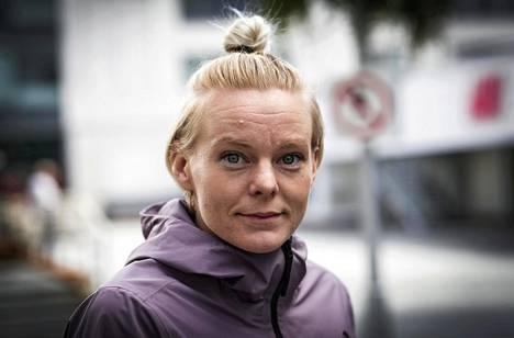 """""""Tämä on ollut urani rankin kevät"""", sprintteri Hanna-Maari Päkk sanoo."""