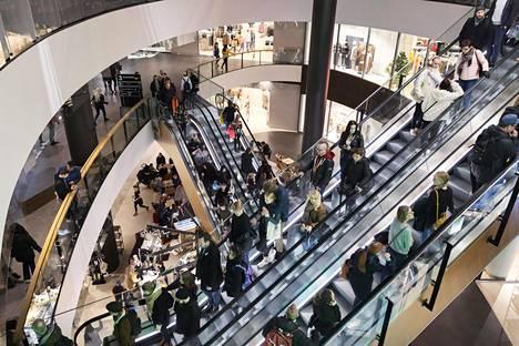 Kauppakeskus Tripla avattiin lokakuussa Helsingin Pasilaan.