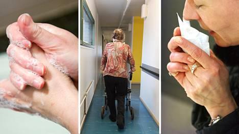 Jokaisen kannattaa huolehtia omalta osaltaan hygieniasta ja riskiryhmien, kuten vanhusten suojelemisesta.