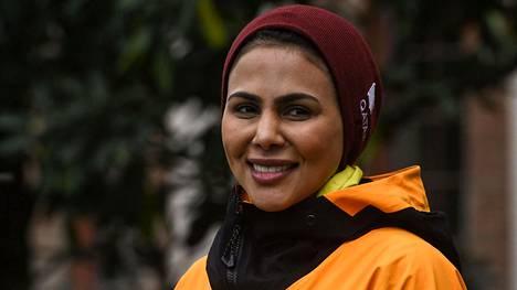 Qatrin prinsessa Asma Al Thani saapui torstaina Kathmanduun.