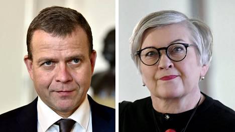 Petteri Orpo ja Anu Vehviläinen.