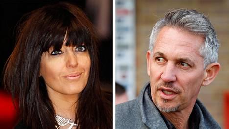 BBC:n juontajat Claudia Winkleman ja Gary Lineker kuuluvat BBC:n kovapalkkaisimpiin juontajiin.