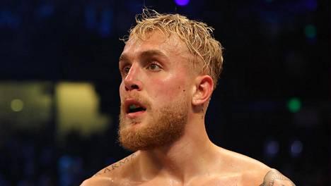 Youtube-tähti Jake Paul voitti nyrkkeilyottelun tammikuussa Miamissa.