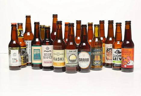 HS-testissä arvioitiin tällä kertaa kotimaisia pienpanimo-oluita.
