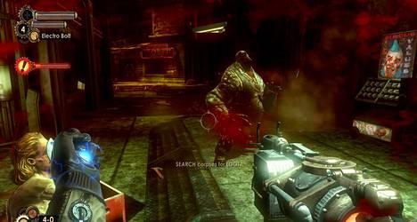 Toimintapeli Bioshock ilmestyy Applen iPhonelle ja iPadille kesällä. Kuva Bioshock 2:sta, joka sijoittuu edeltäjänsä tavoin merenalaiseen Rapturen kaupunkiin.