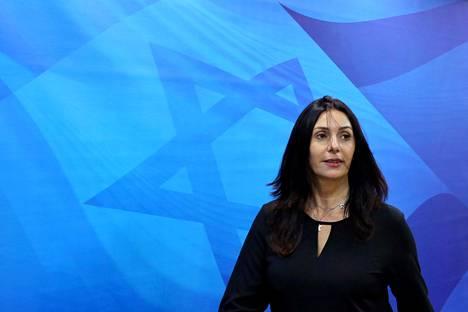 Kulttuuriministeri Miri Negev haluaa täyden vapauden päättää kulttuurin tuista. Toistaiseksi se ei ole onnistunut.