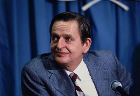 Olof Palme kuvattuna marraskuussa 1980.
