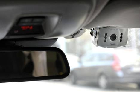 Myös taksiyhtiö Lähitaksi käyttää valvontakameroita.