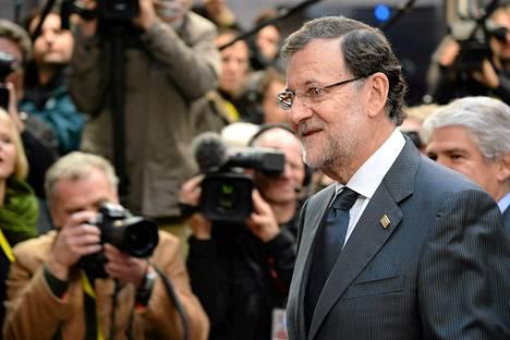 Espanjan pääministeri Mariano Rajoy pyysi anteeksi korruptiota.