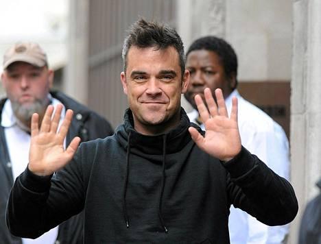 Robbie Williamsista tuli isä.