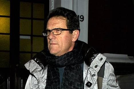 Fabio Capello erosi keskiviikkona Englannin päävalmentajan paikalta.