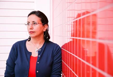 Kansalaisaktivisti ja vapaa toimittaja Hania Moheeb puhuu seksuaalisesta väkivallasta tällä viikolla Lontoossa jättikokouksessa.