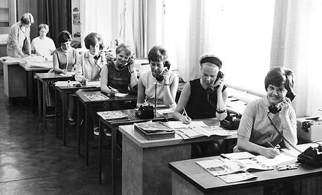 Vuonna 1967 kerrottiin, että Kalle Anttila Oy:n puhelintilausjärjestelmä toimii myös iltaisin ja sunnuntaisin.