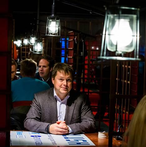 """Venäläisen pääomasijoitusyhtiön Almaz Capitalin Pavel Bogdanov osallistui kasvuyritysten Slush-tapahtumaan Helsingissä. """"Olen todella vaikuttunut tästä tapahtumasta"""", Bogdanov sanoi."""
