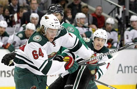 Mikael Granlund on tehnyt tällä kaudella tehot 2+6.