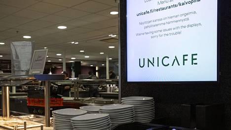 Unicafe-ravintoloissa käy normaalitilanteessa päivittäin noin 12 000 asiakasta.