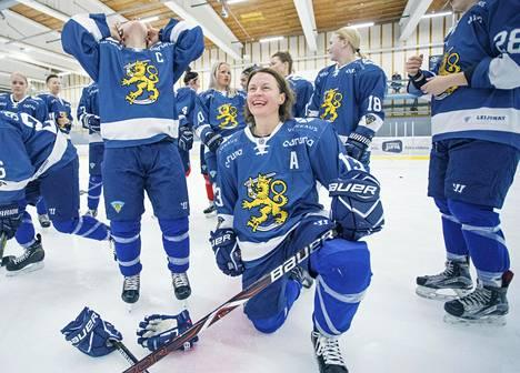Kokenut Riikka Välilä pohti vielä olympialaisten aikaan uransa jatkoa, mutta nyt hän valmistautuu täysillä ensi kauteen.