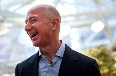 Amazonin perustaja Jeff Bezos.