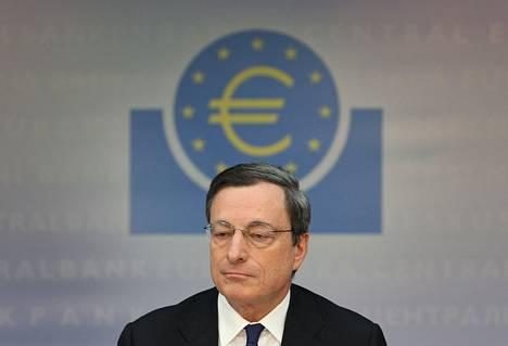 EKP:n pääjohtaja Mario Draghi arvioi maaliskuun alussa neuvoston kokouksen jälkeen inflaatiovauhdin pysyvän tulevina kuukausina jokseenkin ennallaan.