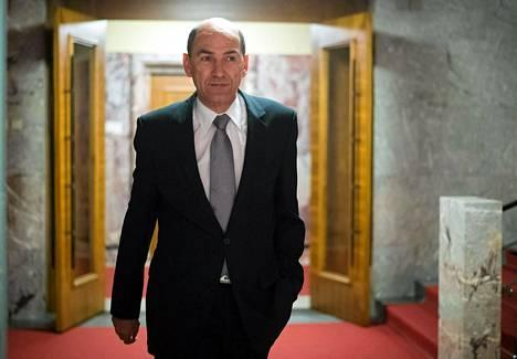 Slovenian entinen pääministeri Janez Jansa