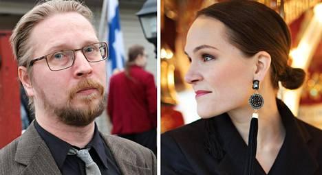 Timo Hännikäinen ja Ronja Salmi.