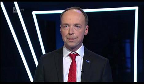 Jussi Halla-aho puhui perussuomalaisten ja populismin suhteesta.