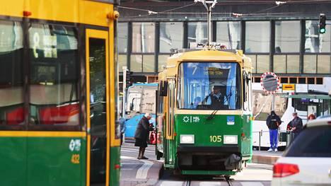 Raitioliikenteen katkaisu Kurvissa nopeuttaa metrokannen kunnostusta.