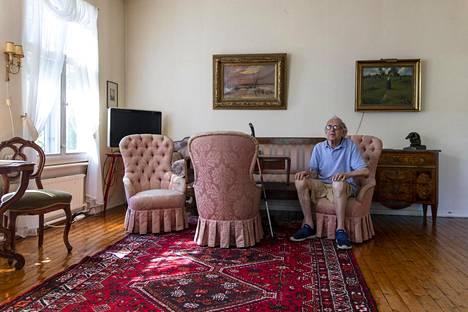 Ulf Hagert ei haluaisi pois Vartiosaaresta, jossa on elänyt valtaosan elämästään.