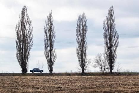 Itä-Ukrainan maasto on pääosin tasaista aukeutta.