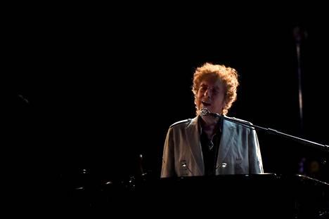 Bob Dylan esiintyi Doverin Firefly-festivaalilla kesäkuussa 2017.