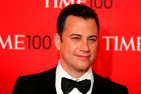 Jimmy Kimmel juontaa Oscar-juhlan.