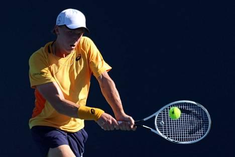 Emil Ruusuvuori on edennyt jo neljännelle kierrokselle Miamin mastersissa.