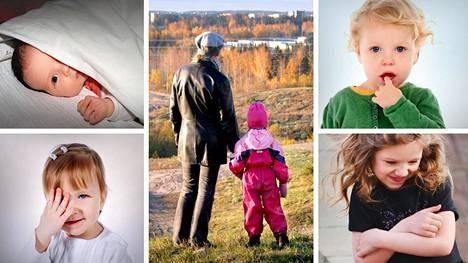 Vanhemman rauhallinen käytös kertoo lapselle, ettei ole mitään hätää. Niin lapsi saa aikaa sopeutua vieraan läsnäoloon.