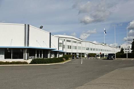 Valmet Automotiven tehdas Uudessakaupungissa.