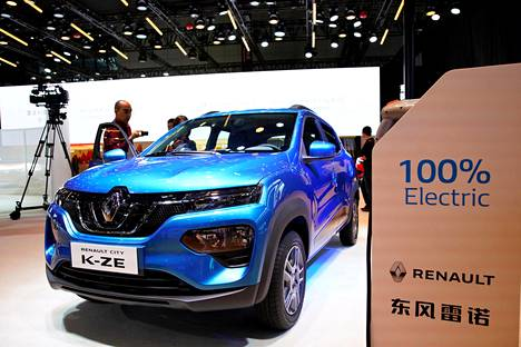 Renault esitteli City K-ZE -sähköauton viime keväänä Shanghain automessuilla. Auto on tarkoitus tuoda myöhemmin Euroopan markkinoille Dacian nimellä.