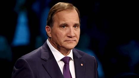 RUotsin pääministeri Stefan Löfven.