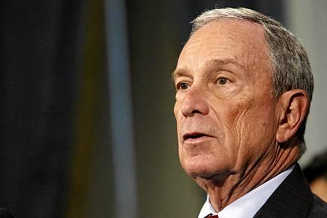 New Yorkin pormestari Michael Bloomberg