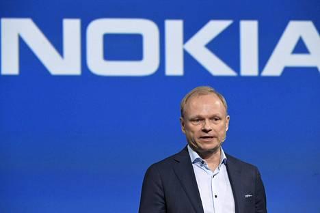 Nokian toimitusjohtaja Pekka Lundmark.