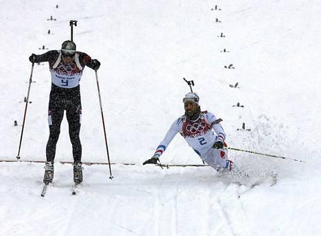 Emil Hegle Svendsen jätti Martin Fourcarden kakkoseksi loppusuoran taistossa.