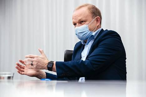 Nokian toimitusjohtaja Pekka Lundmark
