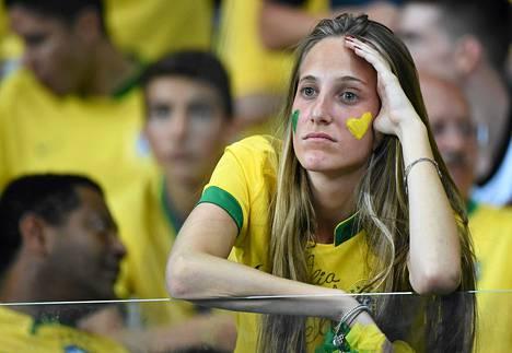 Brasilian murskatappio Saksalle paloi Brasilian kannattajien silmien verkkokalvoille ja kirjattiin MM-historiaan.