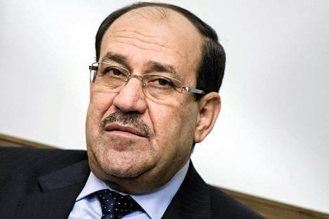 Irakin pääministeri Nuri al-Maliki