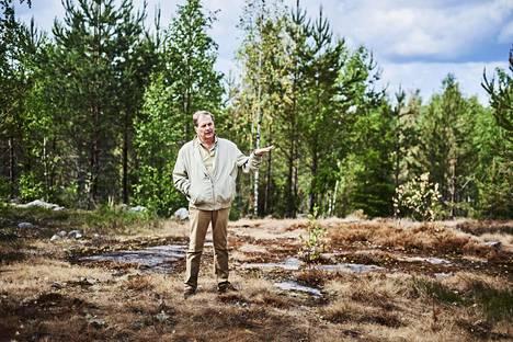 Kari Savolainen haluaa takapihaltaan alkaville maille 1000 ihmisen päästöttömän ekokylän.