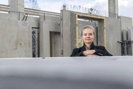 Marjet Mäkinen opiskeli rakennustekniikkaa sivuaineena, muttei uskonut päätyvänsä töihin isänsä perustamaan betoniyhtiöön.