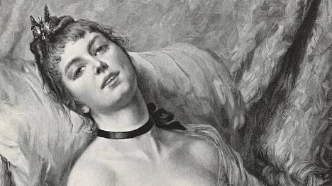 Salla Nazarenko, Jan Erola ja Sakari Heiskanen ovat toimittaneet novellikokoelman seksistä ja erotiikasta. Kuvassa Leon Herbon teos Dolce far niente.