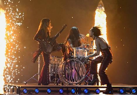 Italian rockesitys oli myös vedonlyöjien suosikki.