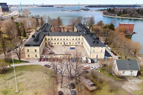 Lapinlahden sairaala ilmasta kuvattuna vuonna 2017.
