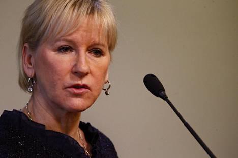 Margot Wallström jättää työnsä ulkoministerinä.
