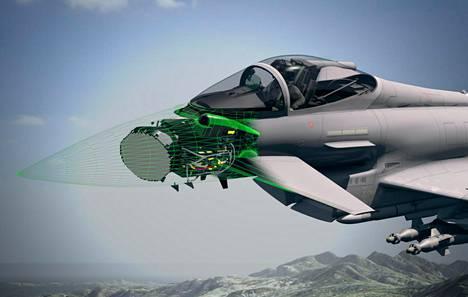 Bae Systems tiedotti pääsiäisen alla, että Suomi pääsee mukaan kehittämään uutta tutkaa, jos Eurofighter valitaan.