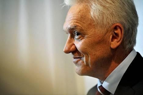Liikemies Gennadi Timtšenko Helsingissä kesäkuussa 2013.